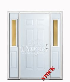 6 Panel Steel Exterior 6-8 Double Door | Darpet Interior Doors for ...