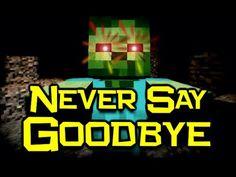 ♪ Never Say Goodbye - Minecraft Parody of Train - Drive By (Minecraft Song & Animation) Never Say Goodbye, Saying Goodbye, Minecraft Songs, Minecraft Stuff, Parody Songs, Minecraft Wallpaper, Popular Music, Fun Games, Legos