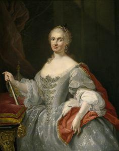 GIUSEPPE BONITO, Mª Amalia de Sajonia, 1745, Museo del Prado. (1724-1760), casada con Carlos III, madre de Carlos IV.