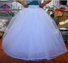 Eyekepper sous-jupe/jupon blanche multi-Couches pour mettre sous la robe de mariee