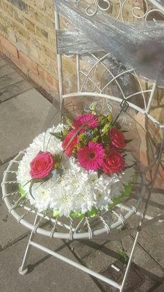 Massed funeral posy #bellasphotos #bellasblooms #funeralflowers #funeraltribute #funeral #flowers #tributes www.bellasblooms.co.uk