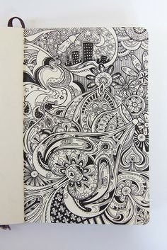 Moleskine illustration #43: 'The inner workings of the cosmos [or something]' by Major Lazor, via Flickr