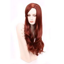 "28"" Cheap Women's Synthetic Wig Long Wavy Hair Wig African American Wig For Women Heat Resistant Fake Hair Wine Red Lolita Wig     #http://www.jennisonbeautysupply.com/    http://www.jennisonbeautysupply.com/products/28-cheap-womens-synthetic-wig-long-wavy-hair-wig-african-american-wig-for-women-heat-resistant-fake-hair-wine-red-lolita-wig/,     		28″ Cheap Women's Synthetic Wig Long Wavy Hair Wig African American Wig For Women Heat Resistant Fake Hair Wine Red Lolita Wig	  	Brand:I'S…"
