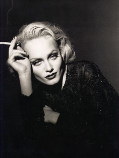 Amber Valletta by Peter Lindbergh, 1995