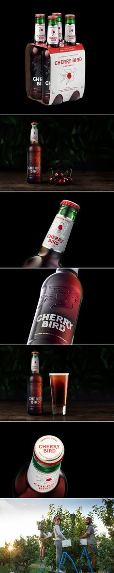 Check Out This Crisp and Playful Cider Packaging Design — The Dieline | Packaging & Branding Design & Innovation News