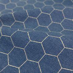 Hexagon - Blue