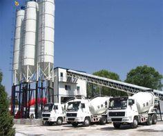 HZS120 concrete batching plant