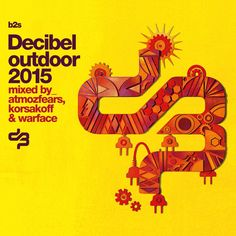 Decibel Outdoor 2015 mixed by korsakoff (B2SCD007) CD - Rigeshop