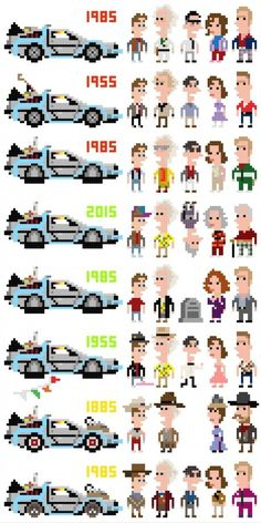 8-bit Back to the Future