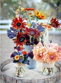 Marvelous Tips: Unique Wedding Flowers Center Pieces wedding flowers summer ice cubes. Spring Wedding Flowers, Fall Flowers, Autumn Wedding, Love Flowers, Floral Wedding, Beautiful Flowers, Dry Flowers, Bouquet Wedding, Wedding Cake