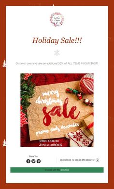 Holiday Sale!!! Holiday Sales, Jewelry Design, Gift Wrapping, Pure Products, Create, Sweet, Shop, Paper Wrapping, Wrapping Gifts