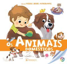 Animais Domésticos | Puzzle, Jogos e Autocolantes