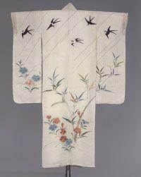 Philadelphia Museum of Art - Collections Object : Woman's Katabira Kimono (Kosode), early 19th c