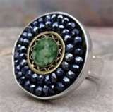 Love her rings!