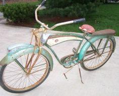 Vintage Monark Bicycle Springer Front End-Monark Holiday Bicycle