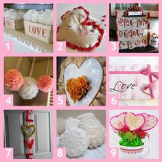 9 Crafty #Valentine Ideas