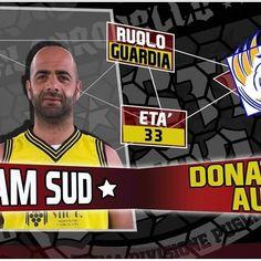 Questa sera, presso il Palazzetto dello Sport di Alberobello, la nostra guardia Donatello Augenti  Torres sarà protagonista del Team Sud nel All Star Game di Prima Divisione Puglia.
