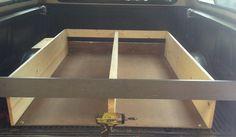 Sliding Truck Bed Drawer System