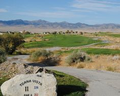 This is the eleventh hole at the Toana Vista Golf Course located in West Wendover, Nevada. It is located just over 3 miles from Santiago Wendover Estates.