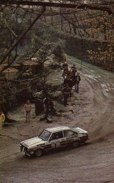 Hannu Mikkola (Ford-Escort RS) - Rallye du Portugal 1980 - sport auto avril 1980.