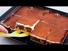 Tortul poate fi impresionant chiar daca nu e un turn pe care-l faci în cateva ore. | SavurosTV - YouTube Romanian Desserts, Biscuits, No Cook Desserts, Spanish Food, Kakao, Tiramisu, Food And Drink, Sweets, Chocolate