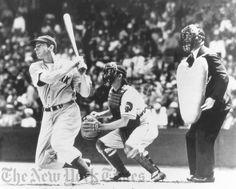 Joe DiMaggio Hitting - Late 1930's