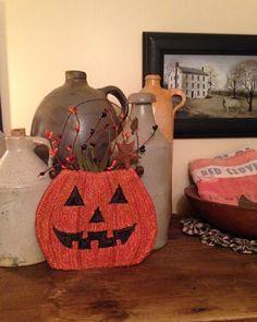 Pumpkin Basket By Amber Ritchie at Sugar Creek Kreations