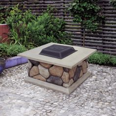 Get the Classic Stone Design Burning Fire Pit at Walmart.com. Save money. Live better.