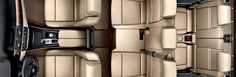 2014 BMW X5 interior- seat leather in white
