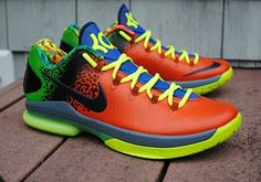 "Nike KD V Elite ""Anti-Nerf"" Customs by Rise Above"