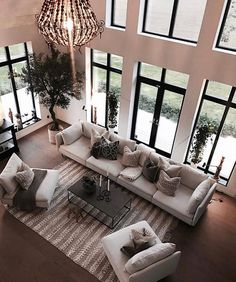 Living room is the place where you often used in the house everyday. In order to have quality time in the house, we need to make our living room comfortable, bu Home Design Decor, Dream Home Design, Home Interior Design, House Design, Home Decor, Interior Designing, Modern Interior, Design Ideas, Living Room Interior