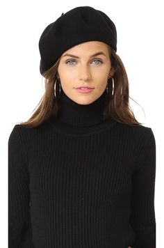 Best French Berets for Fall/ Winter Wool Blend Beret Winter 2017, Fall Winter, Berets, Trends, Wool Blend, Turtle Neck, Hats, How To Wear, Fashion