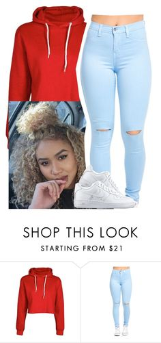 """✨"" by newtrillvibes ❤ liked on Polyvore featuring NIKE"