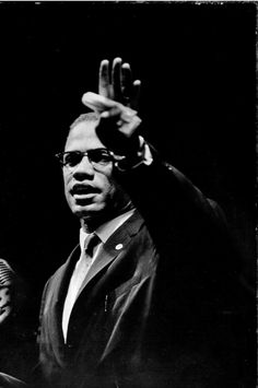 Malcolm X  was a human rights activist who fought for equal rights by force. He didn't agree with MLK about being non-violent.