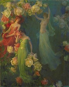 perfume of roses Charles Courtney Curran 1861-1942