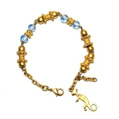 INCA Pre-Columbian Replicas 24 Karat Gold Bracelet – Bijoux Closet