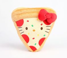 Sanrio Hello Kitty Reversible Plush: Pizza Party  Slice Doll Stuffed Toy