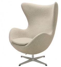 The Dwell Chair is made in the style of the Arne Jacobsen Swan Chair designed in 1958.
