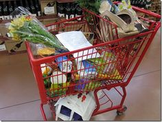 combining grocery lists & meal planning {vegetarian/gluten-free blog}