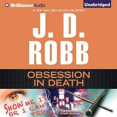 awesome Obsession in Death | J. D. Robb | AudioBook Download (MP3)