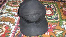 Emporio Armani Train Visibility Black Mens EA7 Rapper Cap Black One Size GBP 44. #EmporioArmani #CapHat