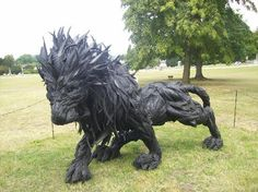 Made of tires  - very cool
