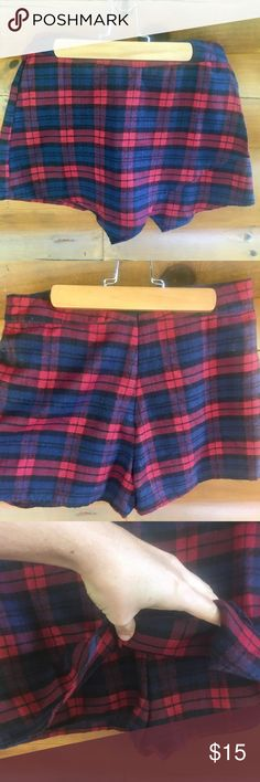 """🏰Scottish Plaid Kilt/Skort 