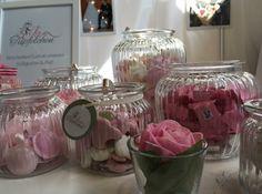 Candybar in weiß rosa