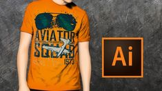 Learn How To Design Bestselling Tshirt Using Adobe Illustrator CC for Merch by Amazon, Teespring Or Red Bubble.
