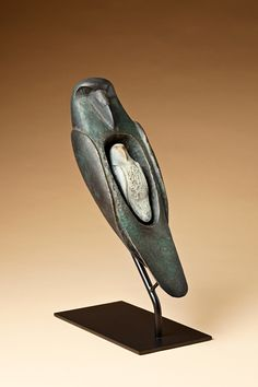 "I saw this sculpture about 7 years ago and I'm still thinking about it.  Hib Sabin, ""Raven Dreams of His Brother"