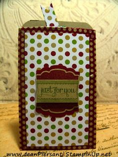 Washi Wednesday | Gift Card Holder | Up-cycled Toilet Paper Roll