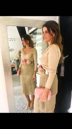 Falda Helen y top Talía #louvermarbella#faldaflecos#beige#lainvitadaperfecta#moda#showroom#marbella