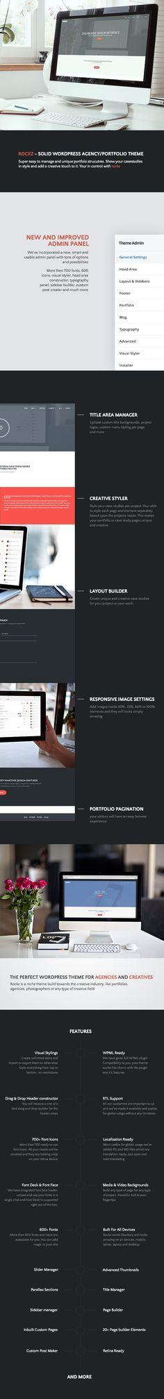 Rockz - Solid Wordpress Agency/Portfolio Theme