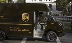 """""""Since vehicles represent approximately 35% of UPS's carbon footprint, a cornerstone of the company's environmental strategy is to support the development and use of lower-emission alternative fuels,"""" says David Abney, UPS chief operating officer."""
